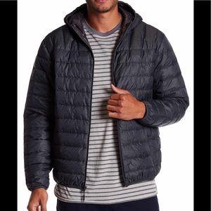 🔥🔥Hawke & Co. Hooded Packable down jacket.